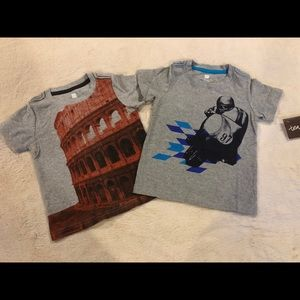 Tea Collection Boy's Graphic Tee Shirts Size XS